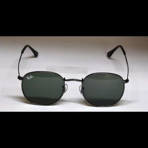 Rayban RB3447 round metal kids sunglasses new